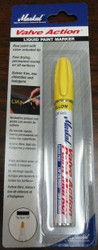 MARKAL VALVE ACTION LIQUID PAINT MARKER - YELLOW 96801