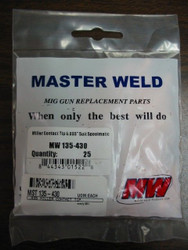 MILLER CONTACT TIP 135430  .035 - QTY/25