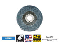 "CGW Camel Grinding Wheels - Flap Disc Z3 XL 4-1/2"" x 7/8""  T29 - Qty 10 - 42364"