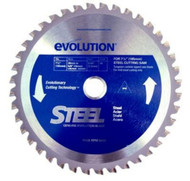 "EVOLUTION TCT 7-1/4"" STEEL-CUTTING SAW BLADE - 185BLADEST"