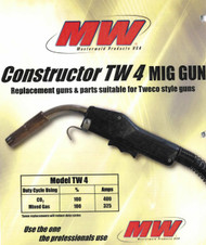 Masterweld MIG Gun Replacement for Lincoln LN7//9//25 15/' 250A Made in USA