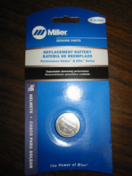 Miller Replacement Battery for Performance & Elite Series Helmets- Qty 1- 217043