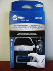 Miller Genuine Magnifying Lens 1.50 for all Miller Helmets - 212238