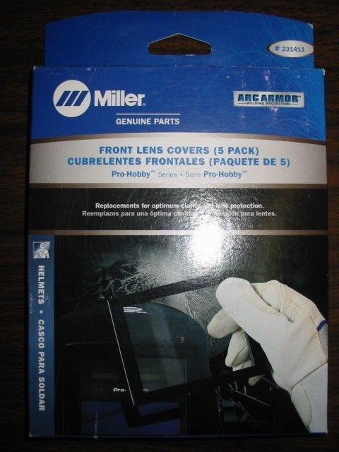 5 pack Miller Pro-Hobby Series Inside Lens Covers 231410