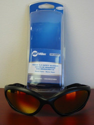 Miller Genuine Arc Armor Safety Glasses Shade 5.0 Black Frame - 235658