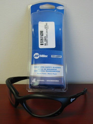 Miller Genuine Arc Armor Safety Glasses Clear Lens, Black Frame - 238979
