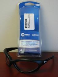 Miller Genuine Arc Armor Safety Glasses Clear Lens, Black Frame - 238979