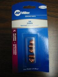 Miller Genuine Tips for Plasma Spectrum 375 & 375 X-treme - Qty 5 - 176656