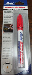 MARKAL VALVE ACTION LIQUID PAINT MARKER - RED 96802