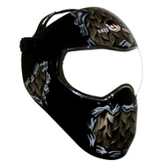 Save Phace Extreme Face Protector Grinding/Splash Guard Helmet - Elementary - Metal Hed