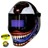 "Save Phace RFP Auto-Darkening Welding Helmet - Shade 9-13  4"" x 4"" viewable -  KANNIBAL"