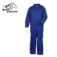 Black Stallion TruGuard 300 NFPA 2112 FR High-Quality Coveralls ROYAL BLUE