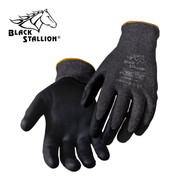 BLACK STALLION AccuFlex Sandy Nitrile Coated HPPE Knit Gloves