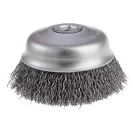 "CGW Camel - Crimped Cup Brush - 3"" dia x 5/8""-11 - Qty 1 - 60560"