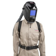Lincoln Viking 3350 PAPR Powered Air Purifying Respirator Welding Helmet K3930-1