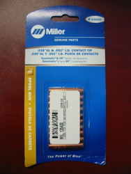 "Miller Genuine .035"" Contact Tips for Spoolmatic & XR series - Qty 10 - 135430"
