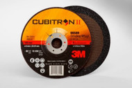 "3M Cubitron II Depressed Center Grinding Wheels 6"" x 1/4"" x 7/8"" Qty20 66589"
