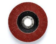 "3M Cubitron II Flap Discs - 4.5"" x 5/8-11"" - 60 Grit - Type 27- Qty10 - 55603"