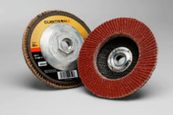 "3M Cubitron II Flap Discs - 4.5"" x 5/8-11"" - 80Grit - Type 27- Qty10 - 55604"