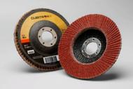 "3M Cubitron II Flap Discs - 4.5"" x 7/8"" - 40Grit - Type 27- Qty10 - 55605"