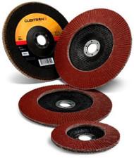 "3M Cubitron II Flap Discs - 4.5"" x 7/8"" - 60Grit - Type 27- Qty10 - 55606"