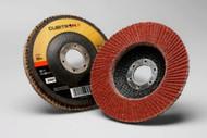 "3M Cubitron II Flap Discs - 4.5"" x 7/8"" - 80Grit - Type 27- Qty10 - 55607"