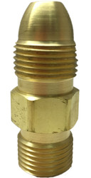 CGA-510 Valve to CGA-300 Acetylene Regulator Adapter - TB-51