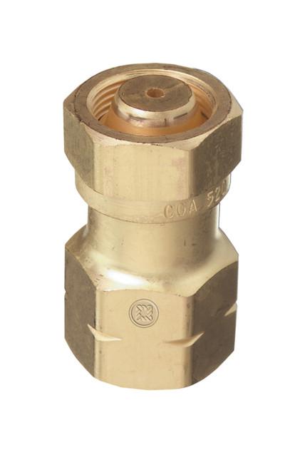 Cga valve to acetylene regulator adapter tb