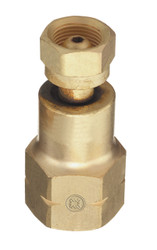 CGA-200 Valve to CGA-510 Acetylene Regulator Adapter - TB-324