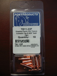 Tweco Style TB-11-23P Style Contact Tip - Pack of 10  TB-11-23P