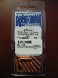 Tweco Style TB-11-35P Style Contact Tip - Pack of 10  TB-11-35P