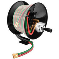 Weldcote HRMWOT Manual Hose Reel for 100 ft. of Twin Gas Hose