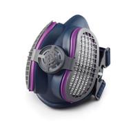 MILLER Half Mask Respirator - Low Profile w/ nuisance level OV relief filters - LPR-100 - ML00994 / ML00995