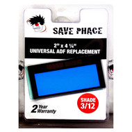 "Save Phace EFP Auto-Darkening Filter Lens - Shade 3/12 - 2"" x 4-1/4"""