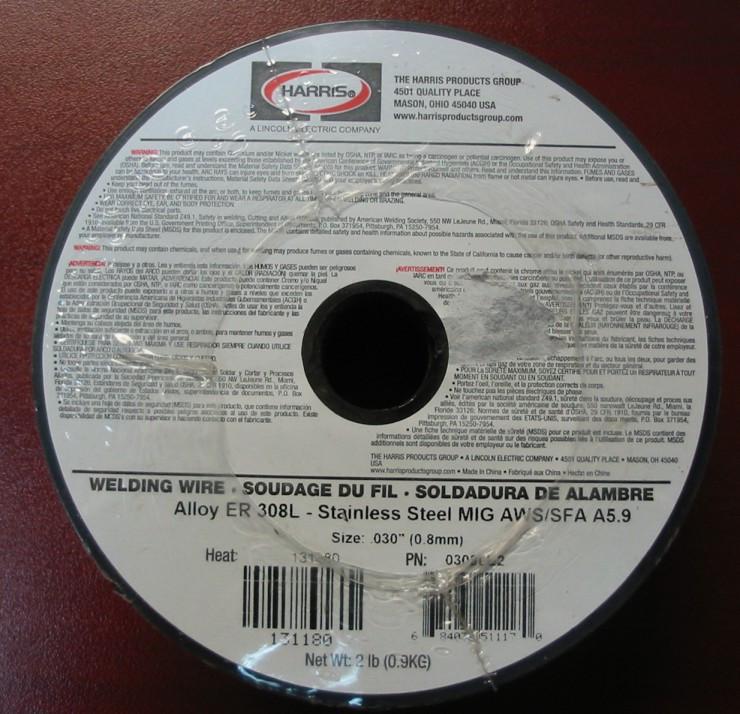 0.8MM .030 mig wire 2 Pound Spool 70S-6