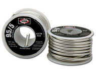 "Harris 95/5 Tin-antimony Solder 1/8"" x 1 lb spool 95561"