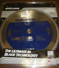 "EVOLUTION TCT 14"" THIN STEEL-CUTTING SAW BLADE"