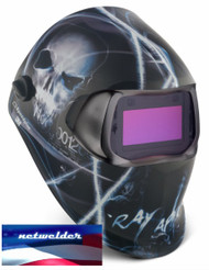 3M SPEEDGLAS 100V  VARIABLE WELDING HELMET - XTERMINATOR  07-0012-31XT