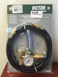 Victor CutSkill Flow Meter Regulator Light Duty Argon/CO2 w/ hose HRF1425-580