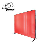 Revco Black Stallion Translucent Orange Vinyl Screen 14 mil. (Standard) 6' x 8'