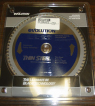 "EVOLUTION TCT 7"" THIN STEEL-CUTTING SAW BLADE -  180BLADETS"