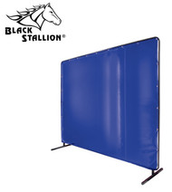 Revco Black Stallion Translucent Blue Vinyl Screen 14 mil. (Standard) 6' x 6'