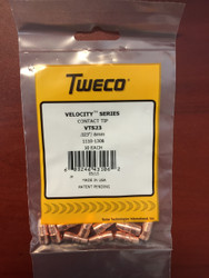 "Tweco VTS23 Velocity Contact Tips .023""  1110-1308 - QTY 10"