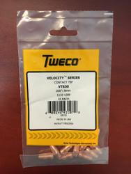 "Tweco VTS30 Velocity Contact Tips .030""  1110-1309 - QTY 10"