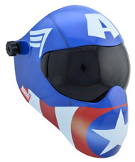 Save Phace EFP  Welding Helmet - B-Series (No ADF) - Marvel CAPTAIN AMERICA