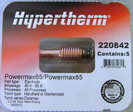 Hypertherm Genuine 220842 Electrode- QTY 5