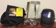 PowerWeld  Welding Kit (ADF Helmet, bag, chipping hammer & more)