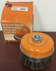 "Walter Steel Wire Cup Brush - 5"" x 5/8""-11   13-G-504"
