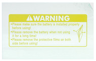 ESAB Sentinel A50 Clear Inside Cover Lens - Pkg of 5 (0700000808)