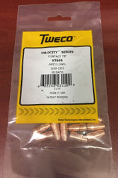 "Tweco VTS45 Velocity Contact Tips .045""  1110-1312 - QTY 10"